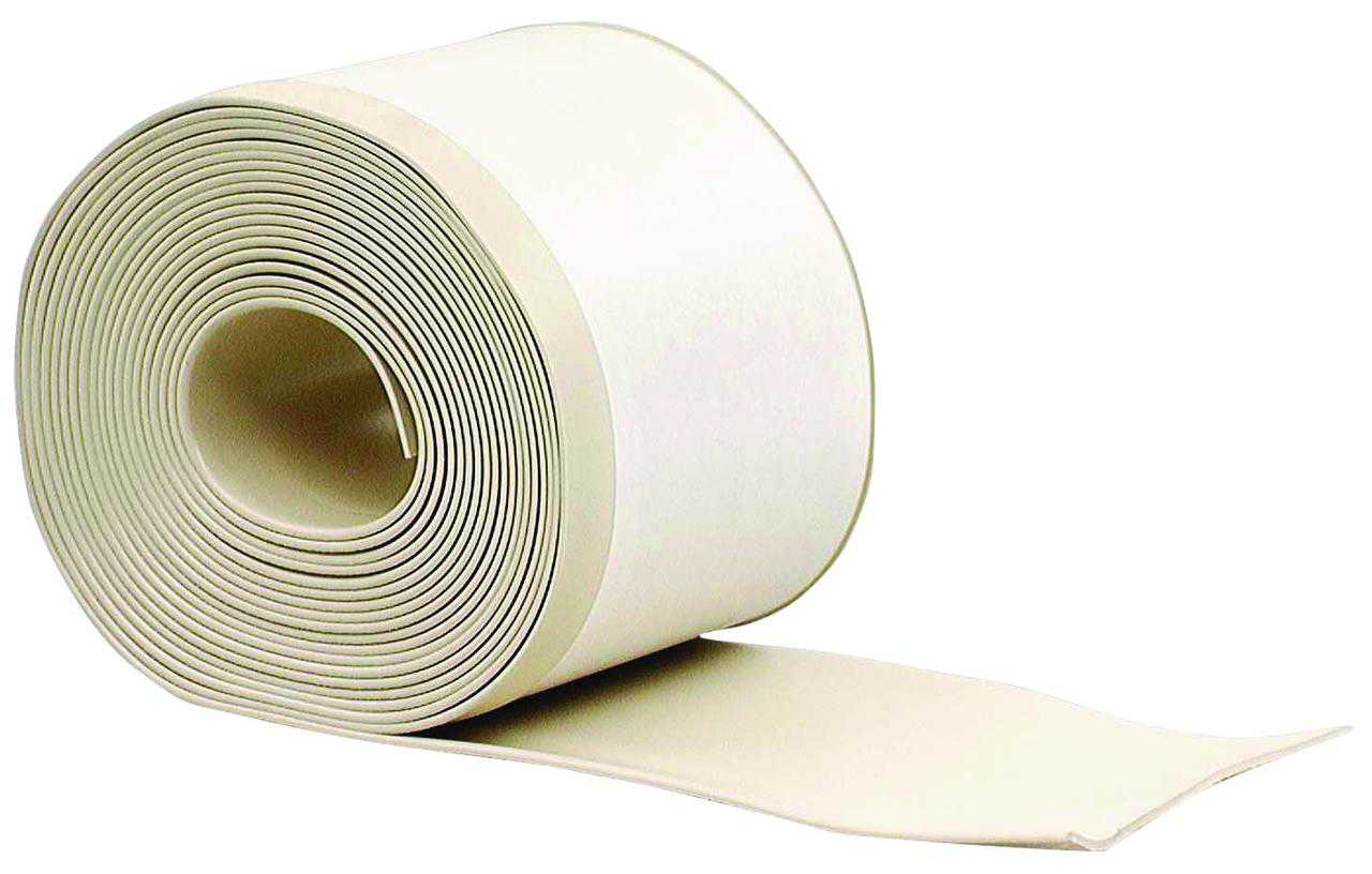 M-D Products 93229 Almond Cove Wall Base Vinyl Rolls, 4' x 20'