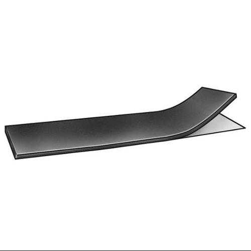 1600-1/8YTAPE Rubber, EPDM, 1/8 In Thick, 4 x 36 In