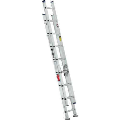 Louisville Ladder 16 ft. Aluminum Extension Ladder, Type III, 200 Lbs Load Capacity, W-2328-16