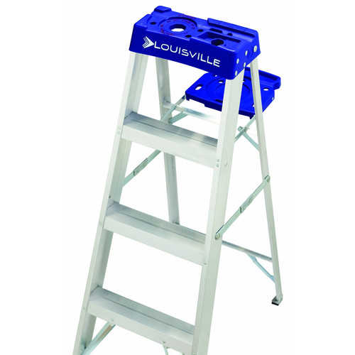 Louisville Ladder AS2106 6 ft. Aluminum Step Ladder, Type I, 250 lbs. Load Capacity