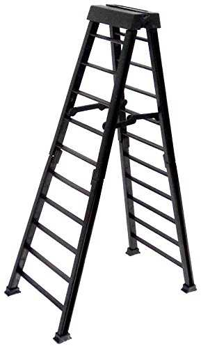 Large 10 Inch Breakaway Black Ladder for WWE Wrestling Action Figures