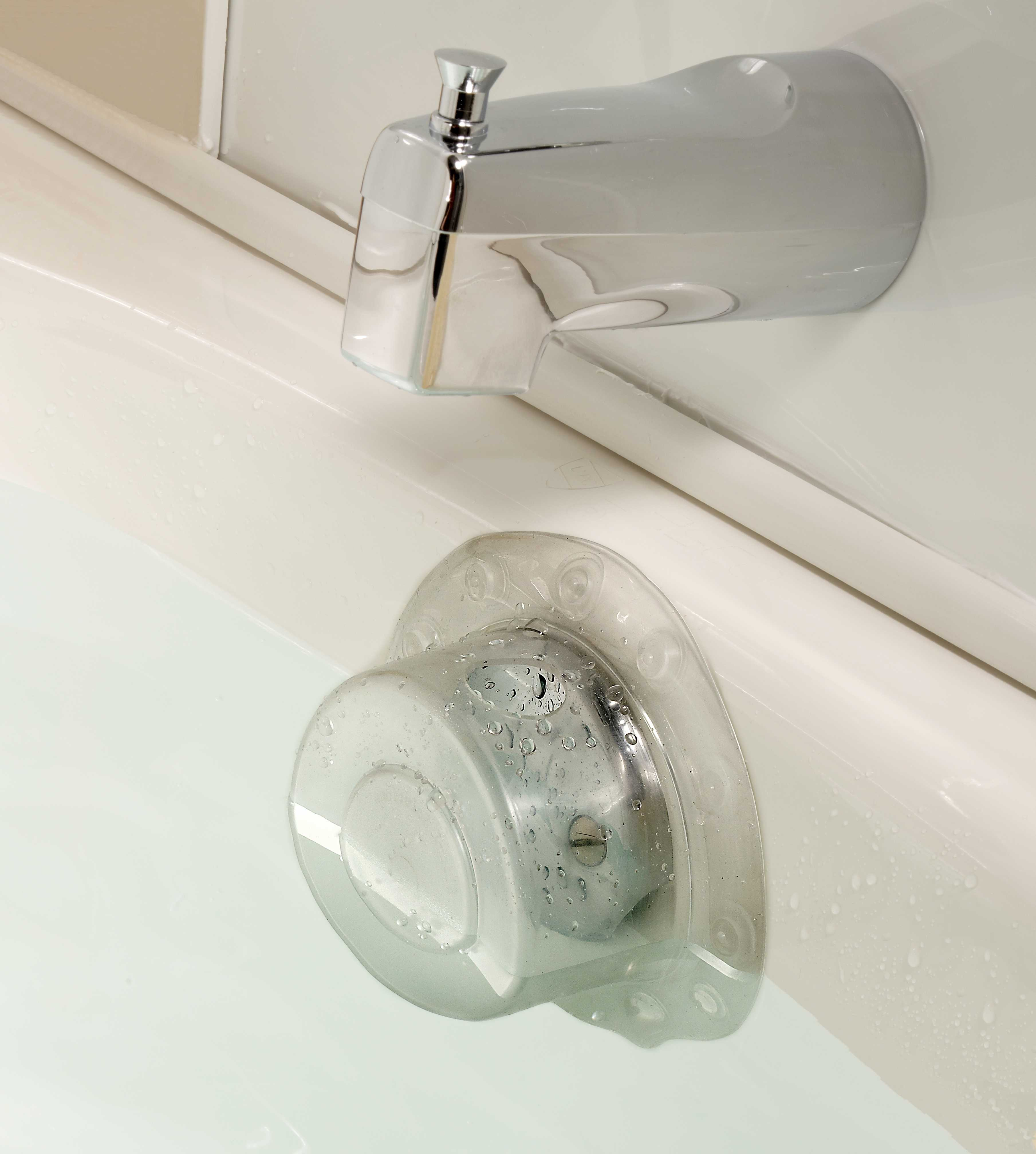 SlipX Solutions Bottomless Bath Overflow Drain Cover