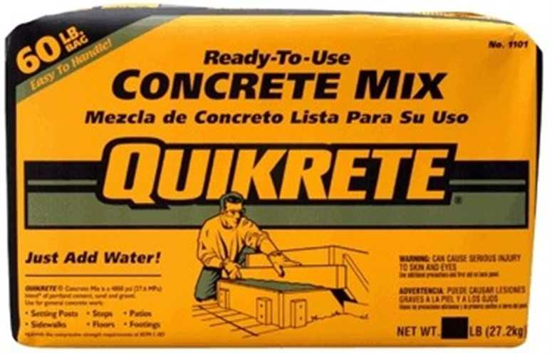 Quikrete Concrete Mix