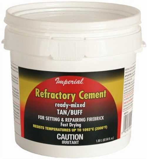 Imperial Mfg Group KK0307 64OZ Refractory Cement