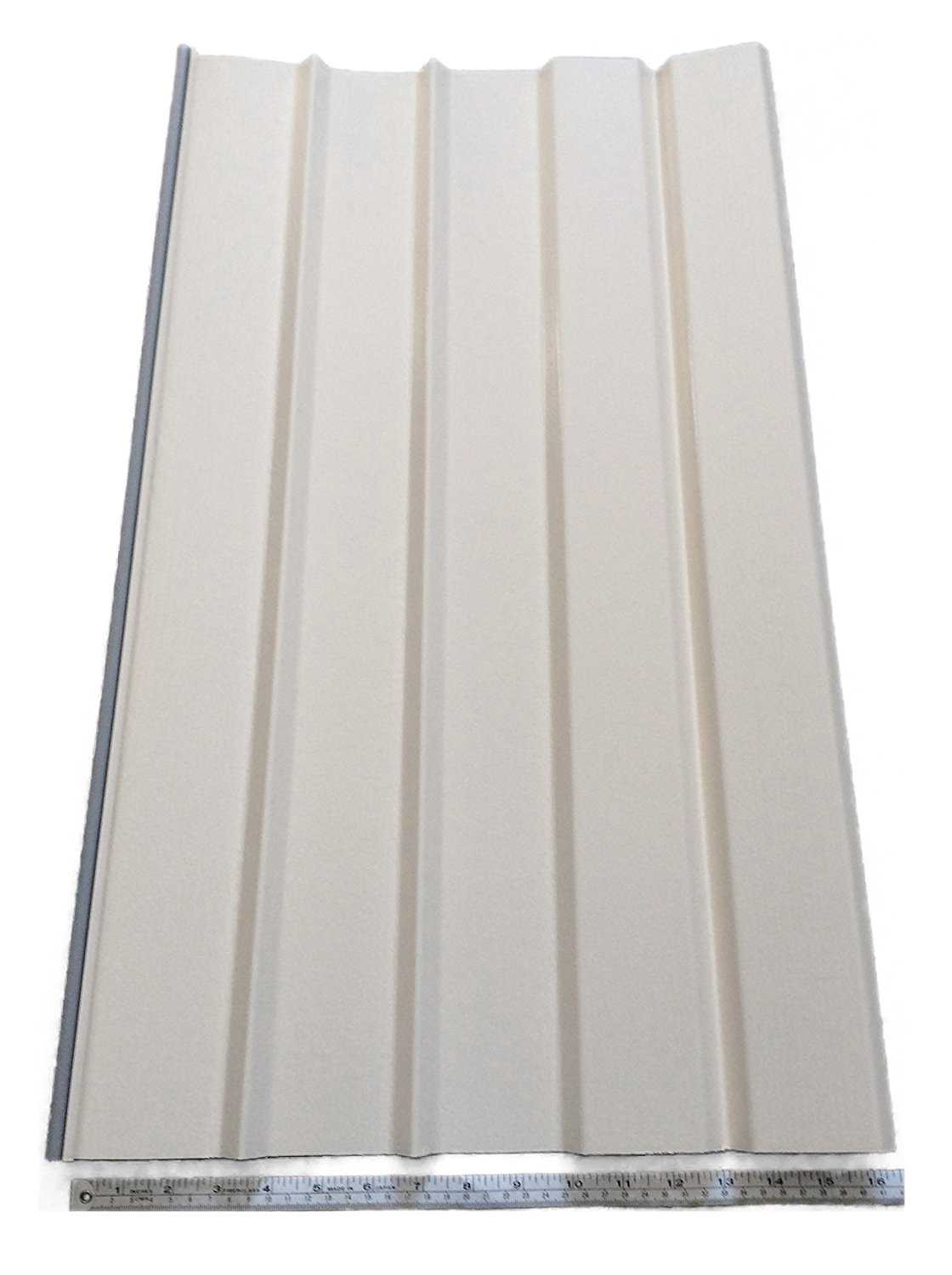 Mobile Home Skirting Box of 8 Cameo(Off White) Panels 16' Wide X 35' Tall