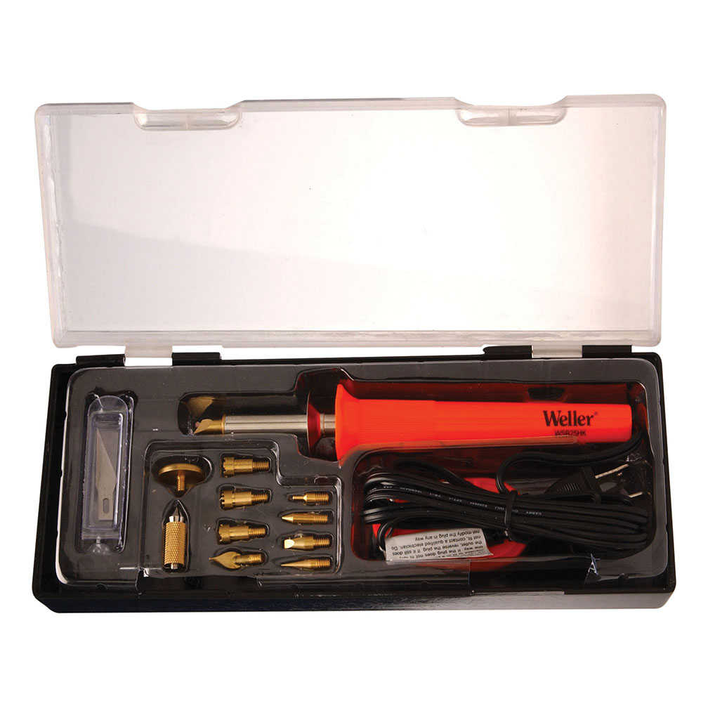 Apex Tool Group, LLC-Tools WSB25WB 15-Piece, 25-Watt Short Barrel Woodburning Kit