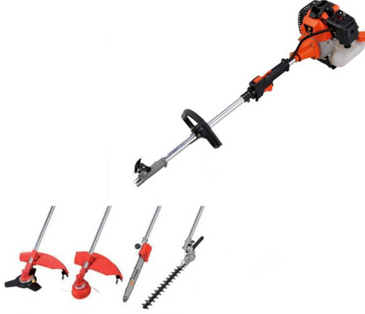 STKUSA 7ft Pole Chainsaw Wacker Brush Cutter Trimmer, 4 in 1