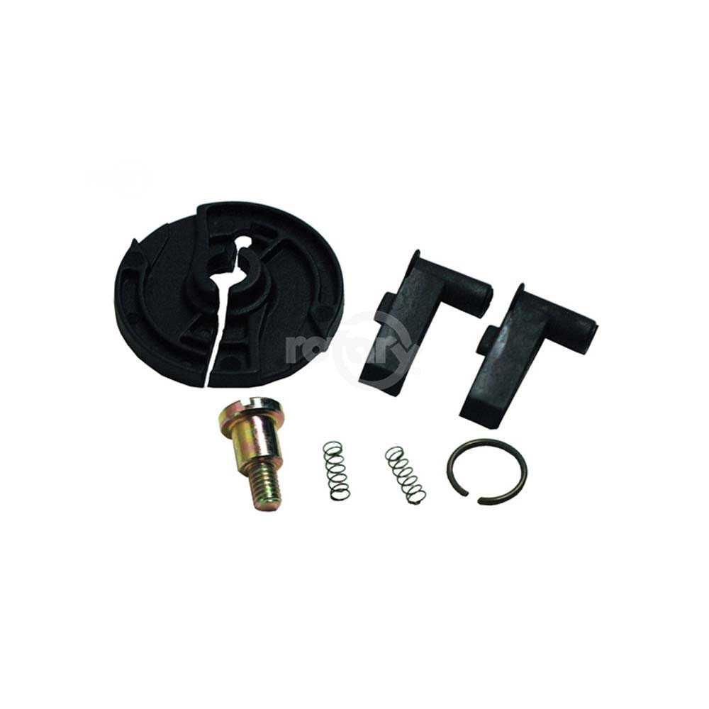 Starter Pulley Repair Kit fits Honda Models: GX110, 120, 140 & 160. Replaces Honda 28422-ZH8-013 (RATCHET), 28443-ZH8-003 (Spring), 28441-ZH8-003 (Washer), 28433-ZH8-003 (Guide Ratchet).