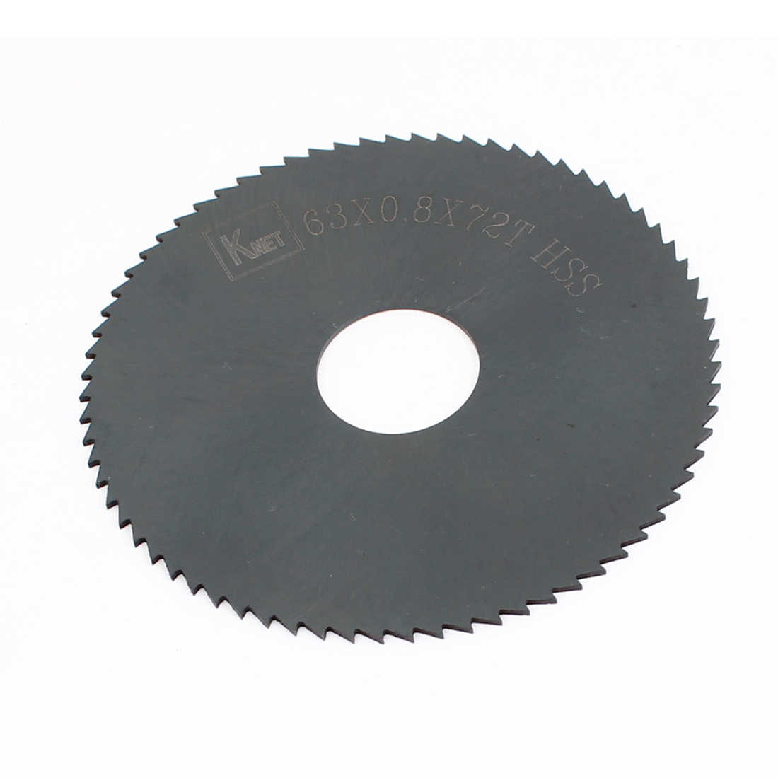Unique Bargains 6.3cm x 0.8cm x 1.6cm 72 Teeth HSS Slitting Saw Blade Cutting Tool