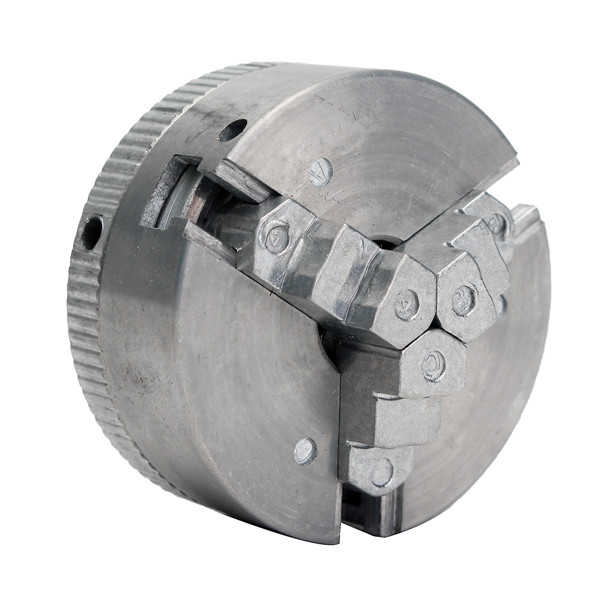 Metal 3 Jaw Self-Centering Lathe Chuck M12*1 45mm For Mini 6 in 1 Lathe +Two Lock Rods
