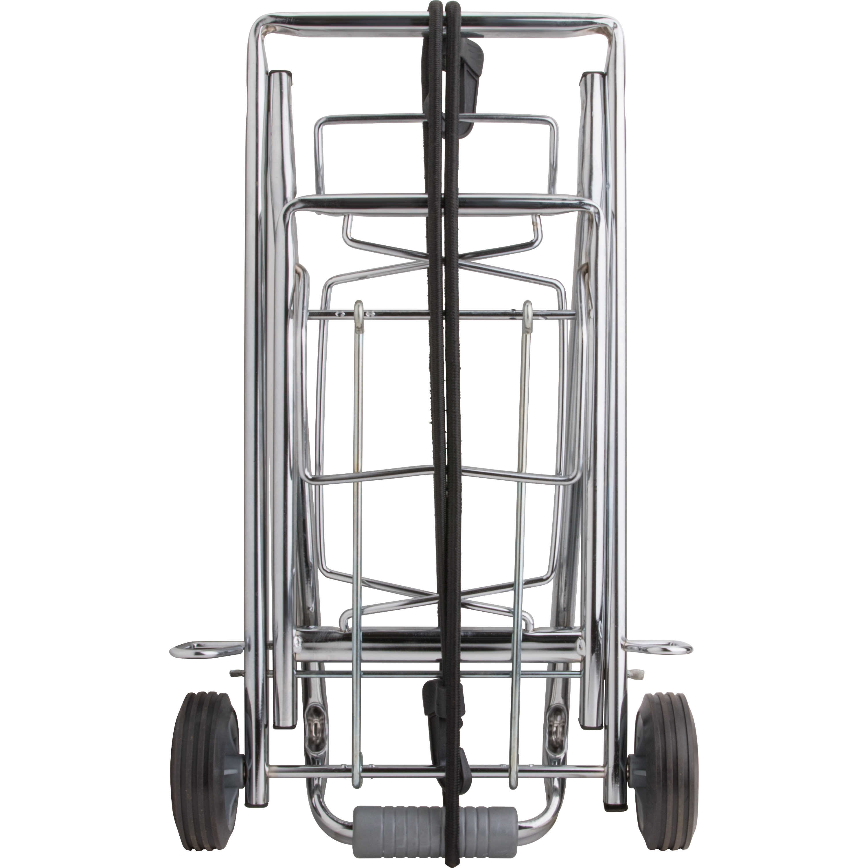 Sparco Compact Luggage Cart, Chrome