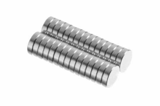 totalElement 1/4 x 1/16 Inch Neodymium Rare Earth Disc Collar Stay Magnets N48 (30 Pack)