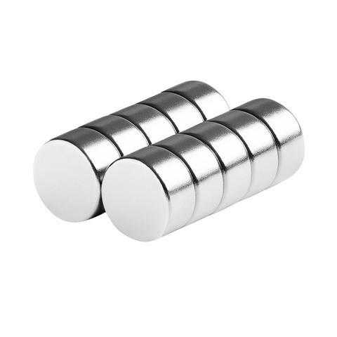 totalElement 1/2 x 1/4 Inch Neodymium Rare Earth Disc Magnets N48 (10 Pack)