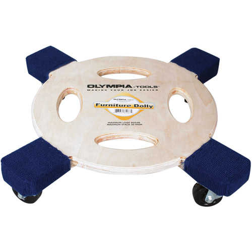 Olympia Tools 800-lb Capacity Furniture Dolly, 85-187
