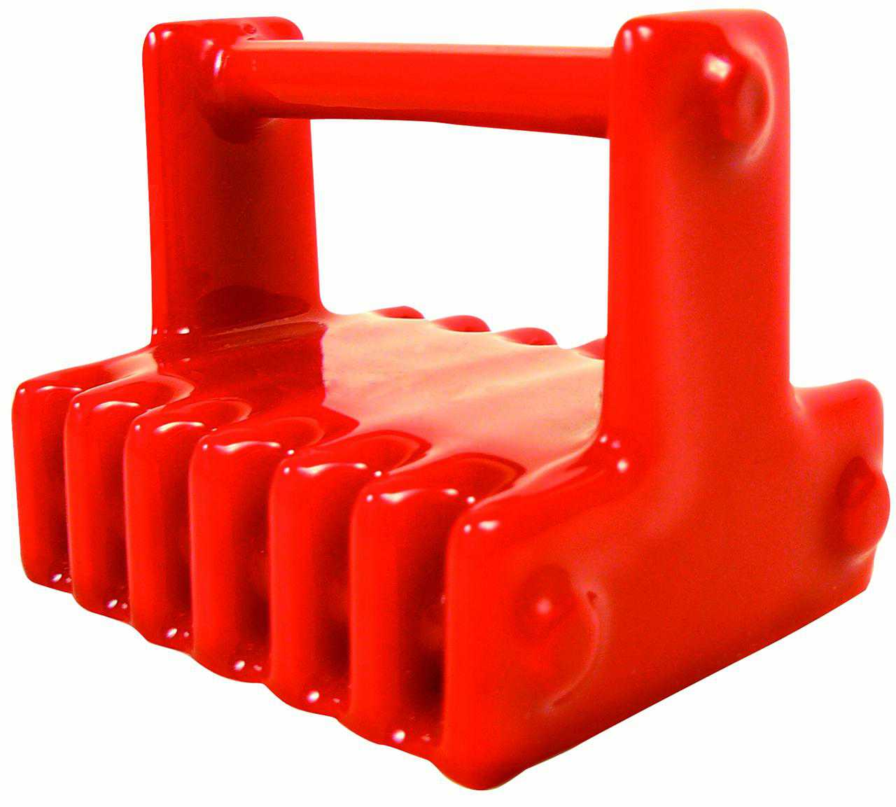 Greenfield Marine Retrieval Magnet 200 lb Rating PVC Coated, Red