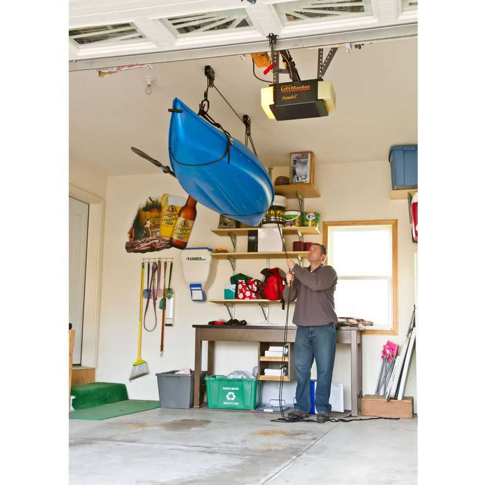 Ceiling Mount Canoe & Kayak Storage Hoist
