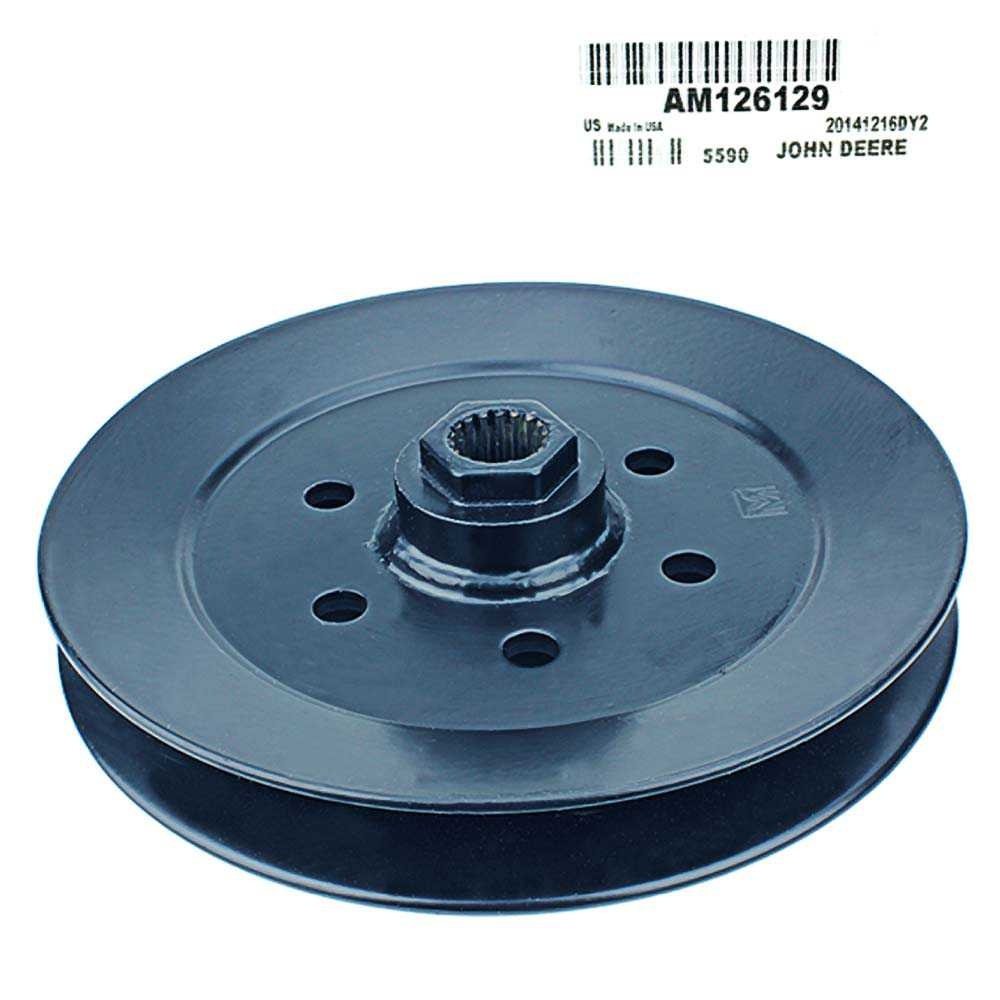 John Deere Original Equipment Pulley #Am126129