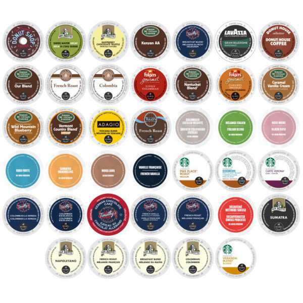 K-Cup Coffee Variety Selection Pack