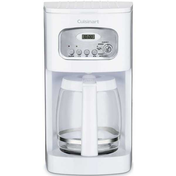 Cuisinart DCC-1100 Programmable Coffeemaker, 12 Cup, White